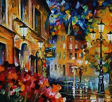 LUCKY NIGHT - LEONID AFREMOV by Leonid  Afremov