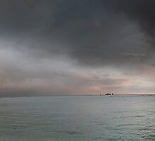 Panoramic View: Fort DeRussy Beach by Alex Preiss