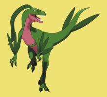Pokesaurs - Grovyle by trekvix
