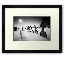 Anyway, Must Dash Framed Print