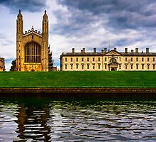 Kings College - Cambridge - The Backs by Mark Tisdale