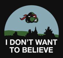 i don't want to believe. by Dann Matthews
