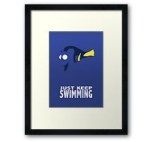 Almost Dory Framed Print
