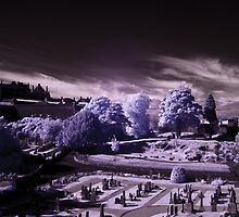stirling castle infra red by TheLostArt