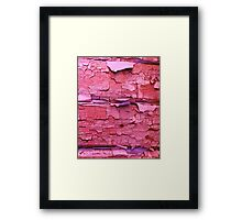 Layer apon layer of pink Framed Print