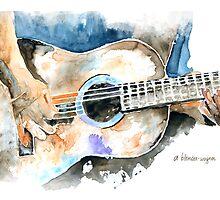 Guitar Riffs by arline wagner
