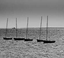 Fishing boats Leigh on sea Essex by DavidHornchurch