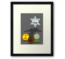 Winter is coming... 2 Framed Print