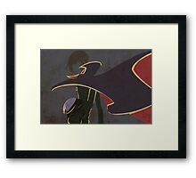 Lelouch/Zero Framed Print
