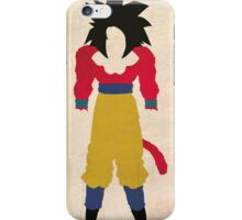 Goku SSJ4  iPhone Case/Skin
