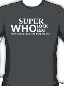 Superwholockian + quip T-Shirt