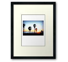 Palms Venice Beach Framed Print