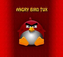 Angry Bird by Vidka Art