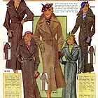 Fashion catalogue 1935 by Maggie Hegarty
