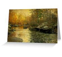 A Golden Autumn at the Unami Greeting Card
