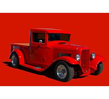 1933 Ford Custom Pickup Truck Photographic Print
