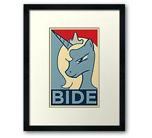 BIDE Framed Print