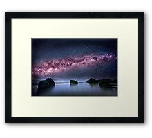 Galtic Rocks Framed Print