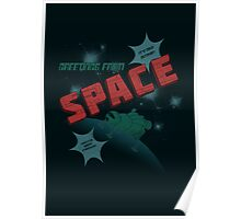 Greetings from Space Poster