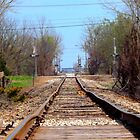 Train Tracks  by Tyler Elbert