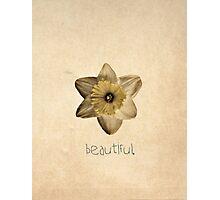 Beautiful. Photographic Print