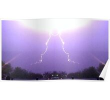 March 19 & 20 2012 Lightning Art 33 Poster