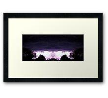 March 19 & 20 2012 Lightning Art 52 Framed Print