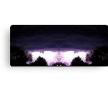 March 19 & 20 2012 Lightning Art 52 Canvas Print