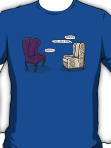 Consulting Armchair and Army Upholstery T-Shirt