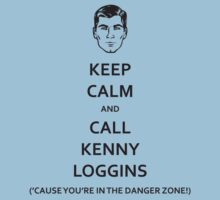Danger Zone! (Black Fill) T-Shirt