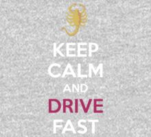 KEEP CALM AND DRIVE FAST by trey3d