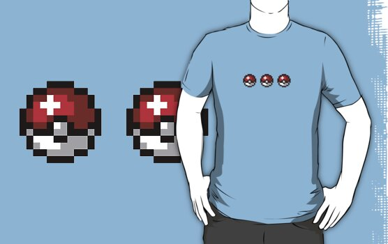 Choose your Pokemon Shirt by Kellan Reck