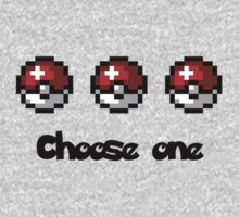 Choose one Pokemon T-Shirt and Sweatshirt by Kellan Reck