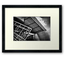 Cold | Steel Framed Print