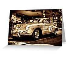 Porsche 3 Greeting Card