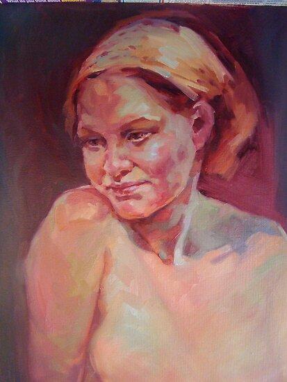 Hungarian girl by Kathylowe