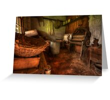 Laundry Days - Monte Christo Mansion, Junee NSW, The HDR Experience Greeting Card