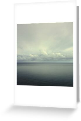 sea and sky by Lena Weiss