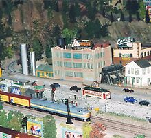 Model Trains, Model Buildings, Citicorp Train Show, New York by lenspiro
