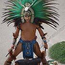 Indian Drummer - Baterista Indígena by Bernhard Matejka