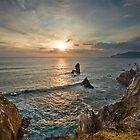 Achill Island Sunset by Derek Smyth