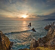 Achill Island Sunset by Derek Smyth