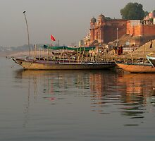 Reflections in the Ganges by SerenaB