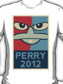 Perry the Platypus for President 2012 T-Shirt