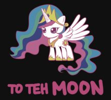 Filly Princess Celestia - To Teh Moon! by chiwowalyssa