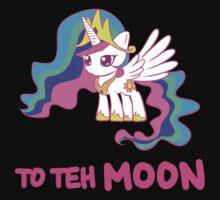 Filly Princess Celestia - To Teh Moon! by chiwowalyssa