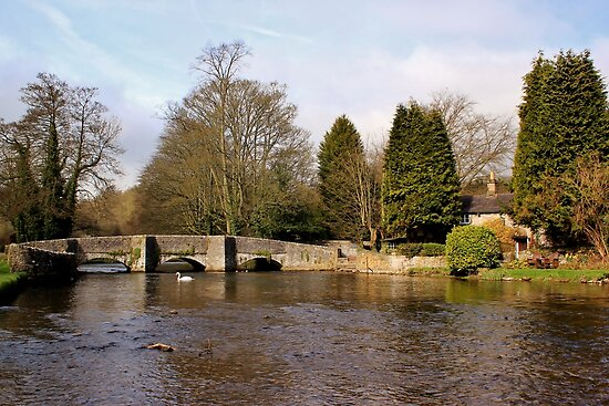 Sheepwash Packhorse Bridge by John Dunbar
