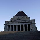 Shrine of Remembrance - Melbourne by SophiaDeLuna