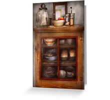 Kitchen - The cooling cabinet Greeting Card