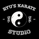 Ryu&#x27;s Karate Studio - Black Version by tombst0ne